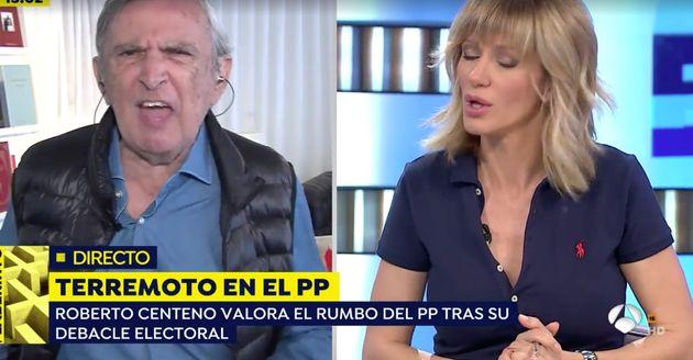 Un asesor de Vox la lía en 'Espejo Público' y fuerza a Susanna Griso a tomar una medida