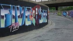 Sherbrooke aura des graffitis sur des équipements de