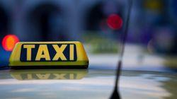 Manifestation des chauffeurs de taxi à