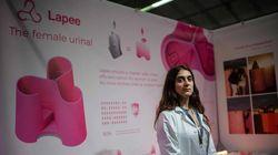 Un urinoir féminin mobile au Concours
