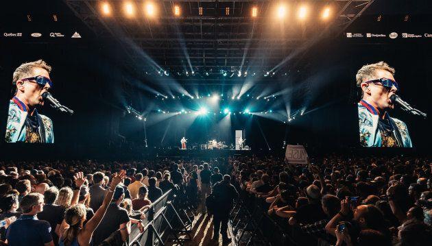 Muse clôt le Festival d'été de Québec 2017 en