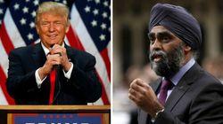 Ottawa ne s'engage pas à doubler ses dépenses militaires comme le réclame