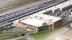 Un centre de 320 millions pour entretenir 4 fois moins de trains que