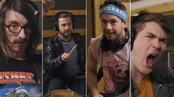 Maxime Desbiens-Tremblay dans «Le band et