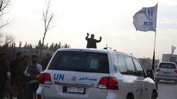 Syrie: un convoi humanitaire interdit d'accès à une ville
