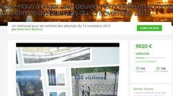 Attentats de Paris: levée de fonds pour une oeuvre en hommage aux