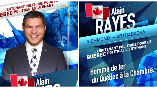 Le chef du Parti conservateur du Canada a distribué des imitations de cartes de hockey pour présenter...