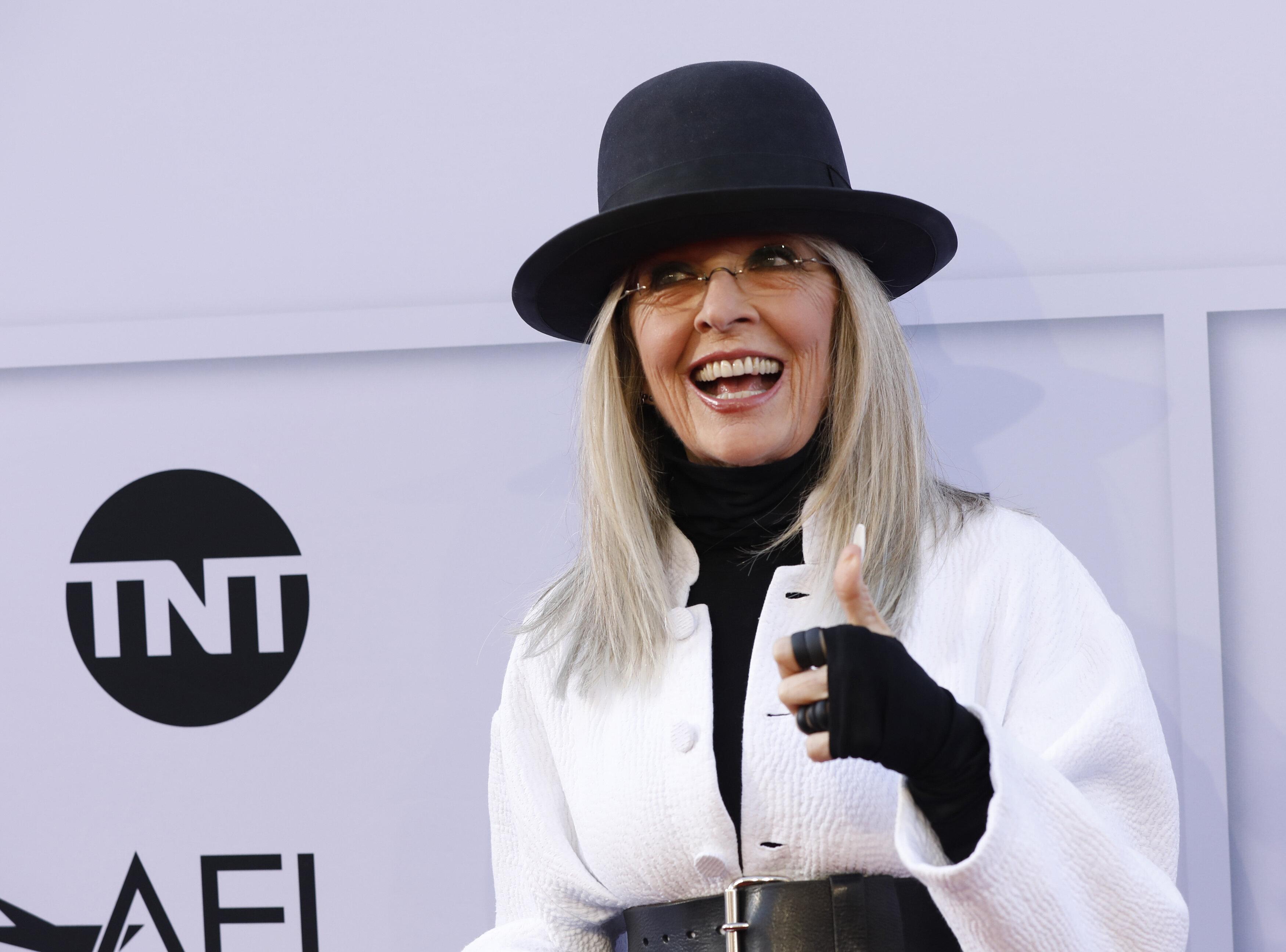 2017 American Film Institute Life Achievement Award  – Arrivals – Los Angeles, California, U.S., 08/06/2017 - Actress Diane Keaton. REUTERS/Mario Anzuoni