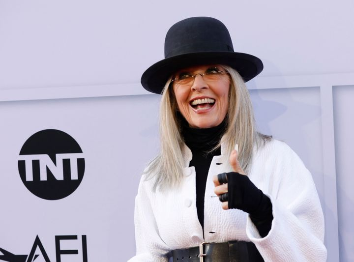 Diane Keaton at the 2017 American Film Institute Life Achievement Award tribute in Los Angeles.