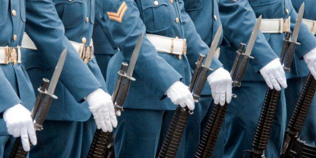 Les soldats canadiens ont vécu plus de violence dans l'enfance, selon une