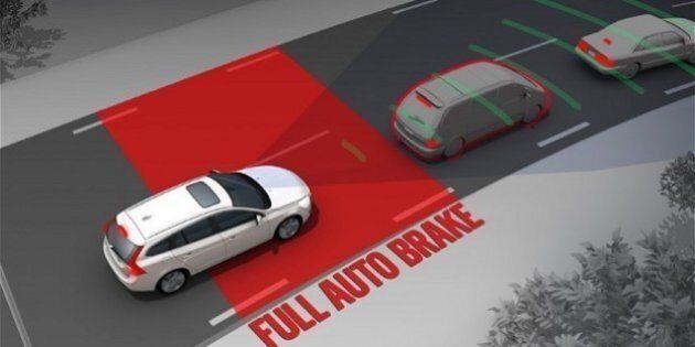 Ne vous fiez pas trop au freinage automatique, dit l'American Automobile