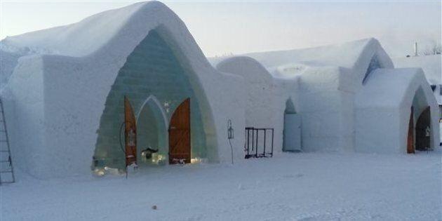 L'Hôtel de glace déménage au Village Vacances