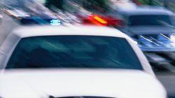 Les policiers interpellent 4 personnes aux abords de la polyvalente