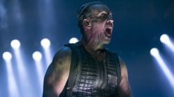Le groupe métal Rammstein au Rockfest