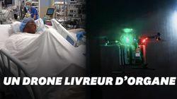 Aux États-Unis, des médecins ont tenté la livraison d'organes par