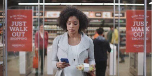 Amazon Go promet un premier magasin «sans caisse ni file