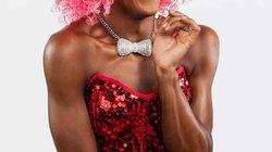 Barbada de Barbades, une drag queen haute en
