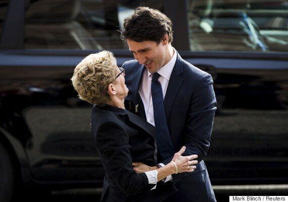 Les libéraux fédéraux «ravis» d'avoir financé une partie de la mission de Kathleen Wynne au