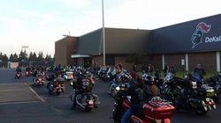 50 motards accompagnent un enfant victime de harcèlement scolaire à