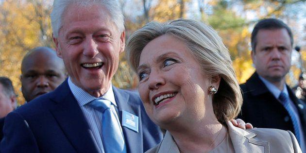 Les Clinton seront en vacances en