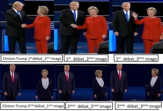 Débat Clinton-Trump: peut-on prédire le gagnant dès l'entrée en