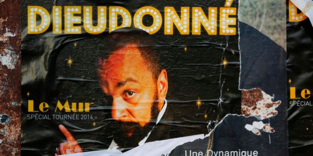A poster which presents the one-man-show