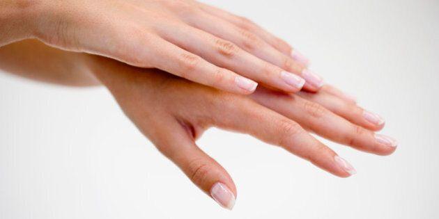Hands of woman