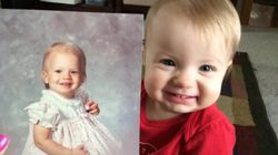 27 photos d'enfants qui ressemblent à s'y méprendre à leur