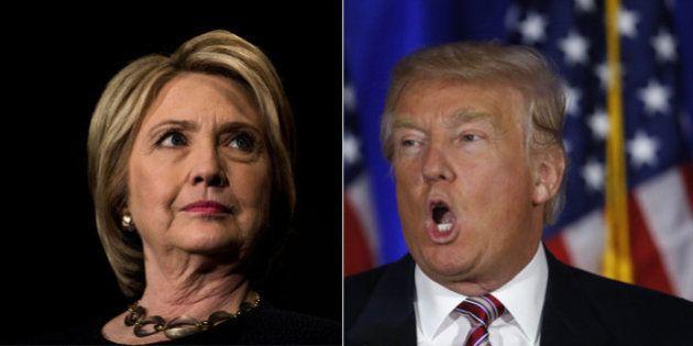 Les questions-pièges du premier débat pour Hillary Clinton et Donald