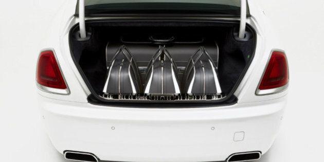 Des valises à plus de 50 000 $ pour votre Rolls-Royce