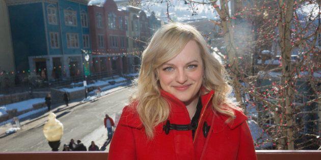 PARK CITY, UT - JANUARY 26: Elisabeth Moss is sighted during the Sundance Film Festival on January 26,...