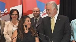 Maryse Patenaude, candidate libérale dans Marie-Victorin, à
