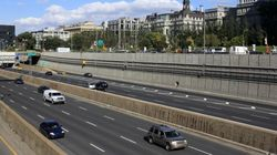 Fermeture complète de l'autoroute 720 à