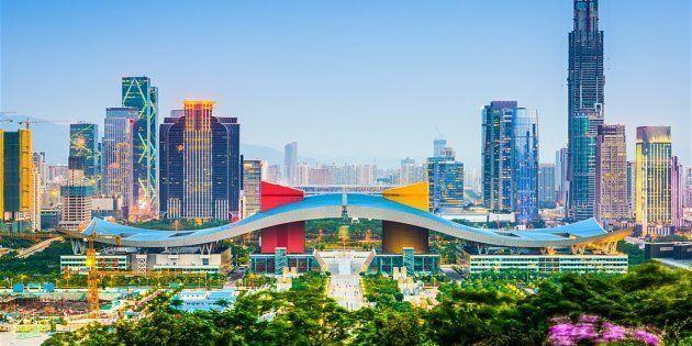 Cette expansion fulgurante est essentiellement due à l'industrialisation de la ville par le biais de multitudes d'entreprises manufacturières établies.