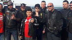 200 motards pour escorter un garçon victime d'intimidation à