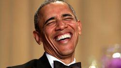 Obama se moque de Trump à son dernier dîner des correspondants