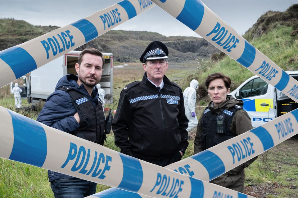 WARNING: Embargoed for publication until 00:00:01 on 09/04/2019 - Programme Name: Line of Duty - Series 5 - TX: 14/04/2019 - Episode: Line of Duty S5 - episode 3 (No. 3) - Picture Shows: ***EMBARGOED TILL 00:01 TUESDAY 9TH APRIL 2019*** Steve (MARTIN COMPSTON), Hastings (ADRIAN DUNBAR), Kate (VICKY MCCLURE) - (C) World Productions - Photographer: Peter Marley