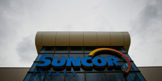 The Suncor Energy Inc. offices stand in Fort McMurray, Alberta, Canada, on Wednesday, June 19, 2014....