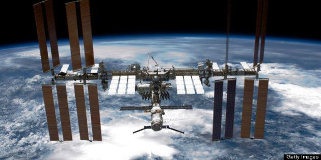 IN SPACE - MAY 29: In this handout provided by National Aeronautics and Space Administration (NASA),...