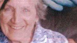 Une femme âgée de 83 ans qui manquait à l'appel dimanche soir