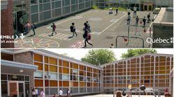 Une école privée au coeur d'une publicité gouvernementale sur le financement de