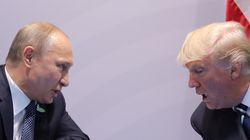 La série «House of Cards» s'est invitée à la rencontre entre Trump et
