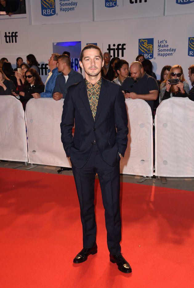 Le tapis rouge de l'ouverture du Festival international du film de Toronto