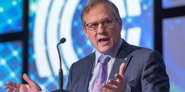 Louis Audet, président et chef de la direction de