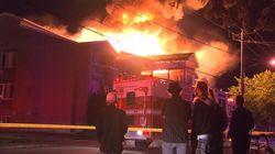 Incendie à Terrebonne: les gicleurs de la résidence n'étaient pas encore en