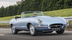 Jaguar dévoile une E-Type à moteur