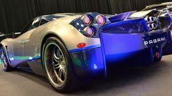 La Pagani Huayra, grande vedette du Salon de l'auto