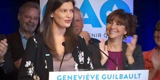 La CAQ officialise la candidature de Geneviève Guilbault dans