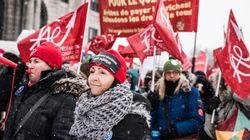 Manifestation à Montréal pour un réinvestissement massif en éducation