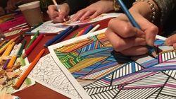 Des soirées de coloriage pour